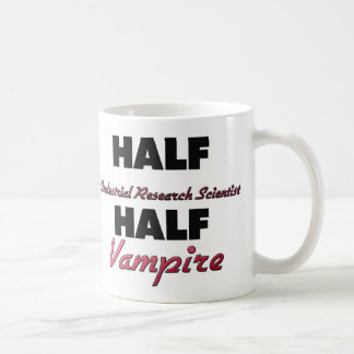Half Industrial Research Scientist Half Vampire Coffee Mugs