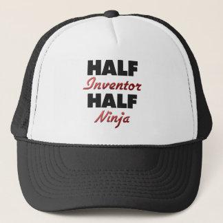 Half Inventor Half Ninja Trucker Hat