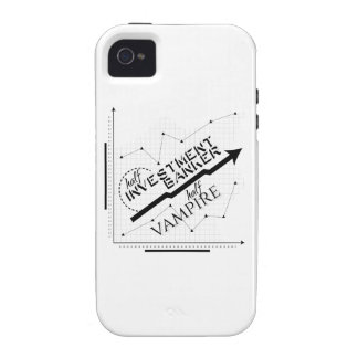 Half Investment Banker, Half Vampire Vibe iPhone 4 Covers