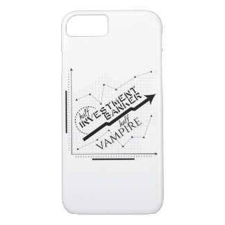 Half Investment Banker, Half Vampire iPhone 8/7 Case