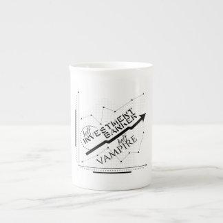 Half Investment Banker, Half Vampire Tea Cup