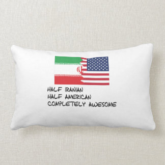 Half Iranian Completely Awesome Pillow