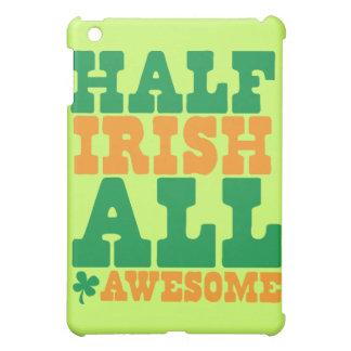 HALF IRISH ALL AWESOME funny St Patrick's day iPad Mini Cover