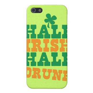 Half Irish Half Drunk iPhone SE/5/5s Cover