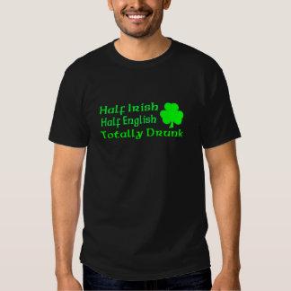 Half Irish Half English Totally Drunk Dresses