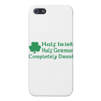 Half Irish Half German Completely Drunk Cover For iPhone 5