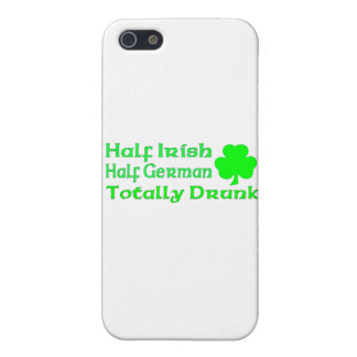Half Irish Half German Totally Drunk Covers For iPhone 5