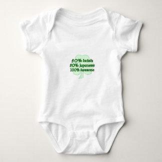 Half Irish half Japanese Totally Awesome Baby Bodysuit