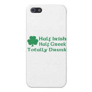 Half Irish Half Totally Drunk Cases For iPhone 5