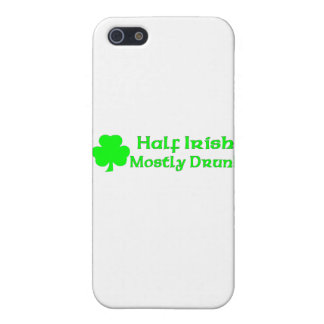 Half Irish Mostly Drunk iPhone 5 Cover