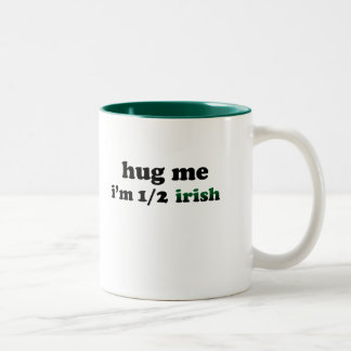 Half Irish Two-Tone Coffee Mug