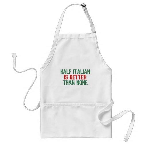 Half Italian Apron