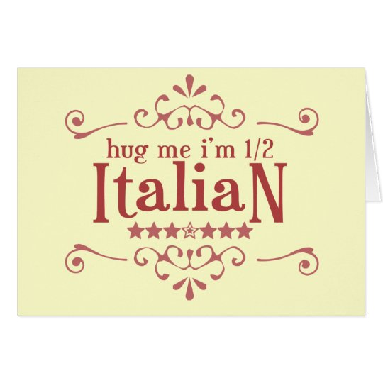 Half Italian Card