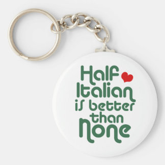Half Italian Keychain