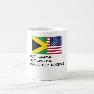Half Jamaican Completely Awesome Magic Mug