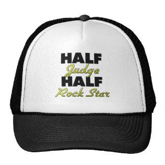 Half Judge Half Rock Star Hats