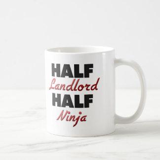 Half Landlord Half Ninja Coffee Mug