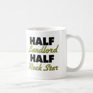 Half Landlord Half Rock Star Coffee Mug