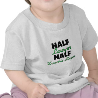 Half Lawyer Half Zombie Slayer Tee Shirt