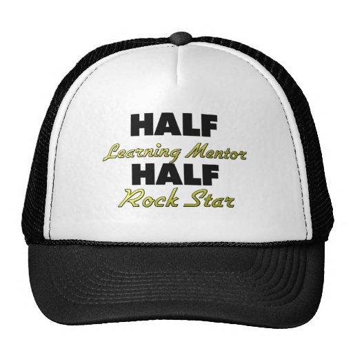 Half Learning Mentor Half Rock Star Trucker Hat