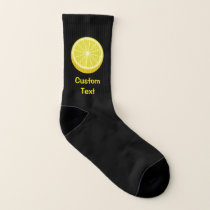 Half Lemon Socks