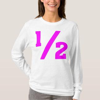 Half - Magenta T-Shirt