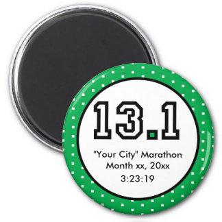 Half Marathon 13.1 Magnet