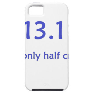 half marathon blue iPhone SE/5/5s case