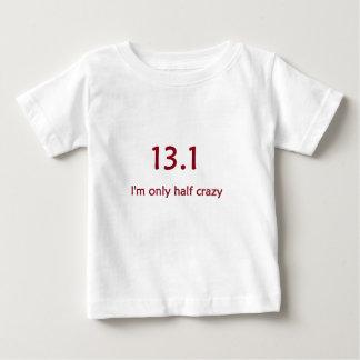 half marathon burgandy baby T-Shirt