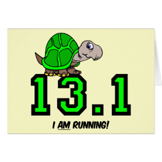 Half marathon card
