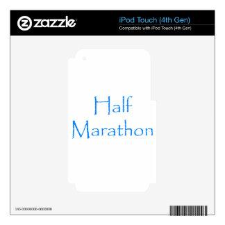 Half Marathon iPod Touch 4G Decals