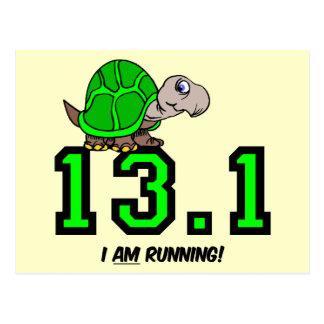 Half marathon postcard