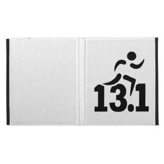 Half marathon runner iPad folio covers