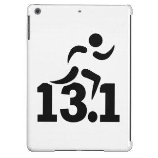 Half marathon runner iPad air cases