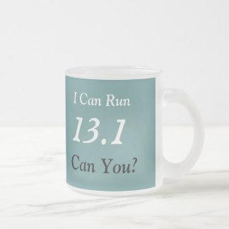 Half Marathon Runner's 13.1 Frosted Mug