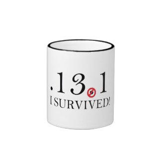 Half Marathon Spoof Mug