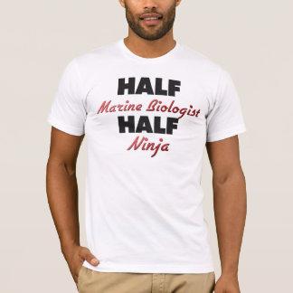 Half Marine Biologist Half Ninja T-Shirt