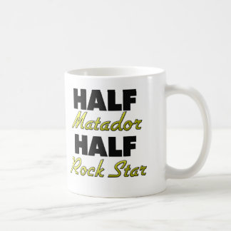 Half Matador Half Rock Star Classic White Coffee Mug