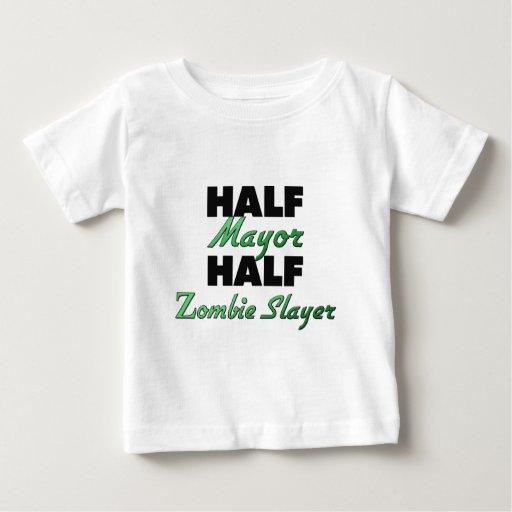 Half Mayor Half Zombie Slayer Infant T-shirt