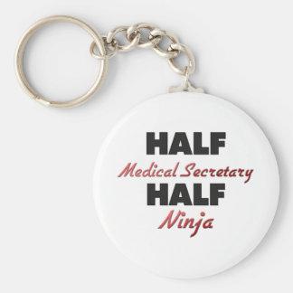 Half Medical Secretary Half Ninja Keychain