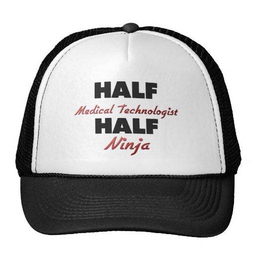 Half Medical Technologist Half Ninja Trucker Hat