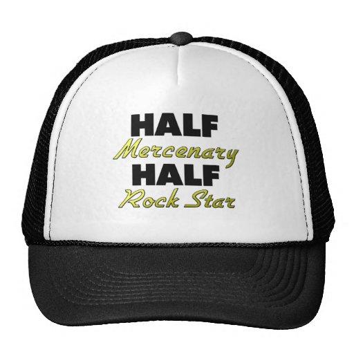 Half Mercenary Half Rock Star Trucker Hats