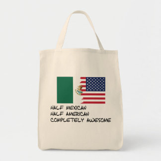 Half Mexican Completely Awesome Tote Bag