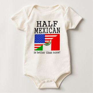 Half Mexican Is Better Than None! Romper