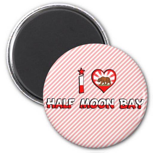 Half Moon Bay, CA Refrigerator Magnets