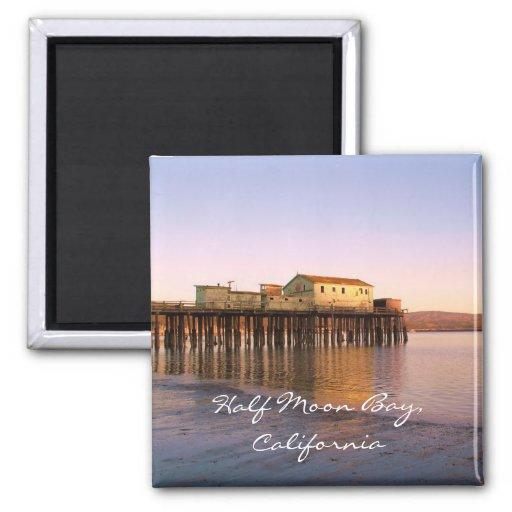 Half Moon Bay,California Magnet
