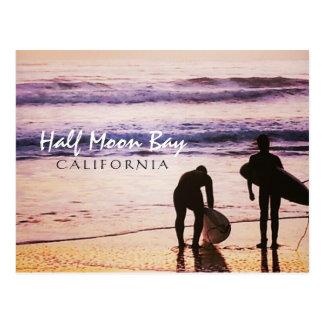 Half Moon Bay California Postcard