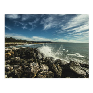Half Moon Bay California Postcard