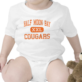 Half Moon Bay - Cougars - High - Half Moon Bay Baby Bodysuits