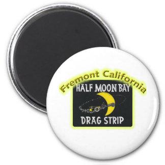 Half Moon Bay Dragstrip Magnet